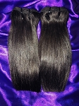 15A Double Drawn Straight Hair