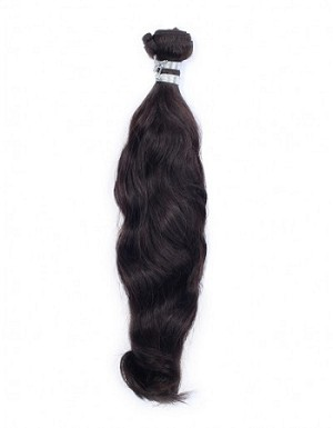 Jet Black Indian Natural Straight